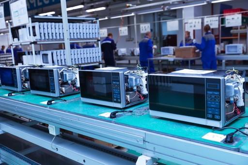 Instandhaltung bei einem Hersteller von Haushaltsgeräten