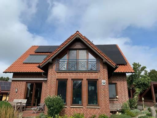 Photovoltaikanlage Einfamilienhaus