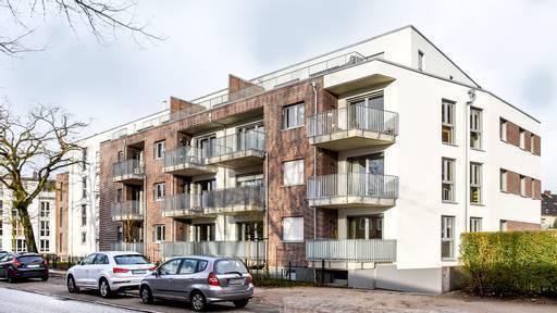 Hamburger Neubauprojekt mit Eigentumswohnungen