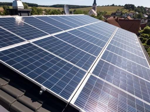 9,075 kWp Anlage mit Stromspeichersystem